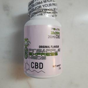 CBD Gummies 200mg Pineapple Express Meds - Gummies (200mg CBD) - Bottle 1