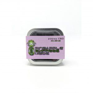 CBD Gummies 200mg Pineapple Express Meds - Gummies (200mg CBD) - Tin - 2